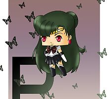 Chibi Sailor Pluto by artwaste