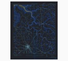 USGS TOPO Map Alabama AL Albertville 303085 1936 24000 Inverted Baby Tee