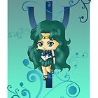 Chibi Sailor Neptune by artwaste