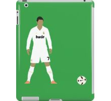 Cristiano Ronaldo Minimalist Design with ball iPad Case/Skin