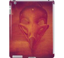 hawk mask iPad Case/Skin