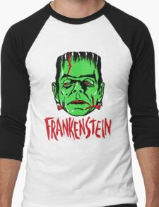FRANKENSTEIN - Vintage 1960's Style! Men's Baseball ¾ T-Shirt
