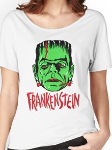 FRANKENSTEIN - Vintage 1960's Style! Women's Relaxed Fit T-Shirt