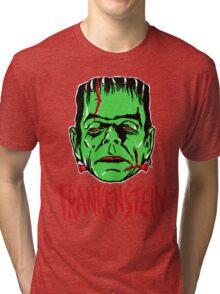 FRANKENSTEIN - Vintage 1960's Style! Tri-blend T-Shirt
