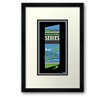 Bouldering world cup series_China Framed Print