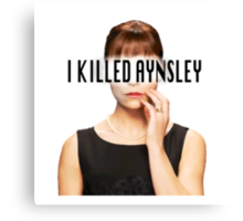Allison Hendrix - I Killed Aynsley  Canvas Print