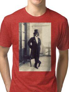 Distinguished Dog Tri-blend T-Shirt