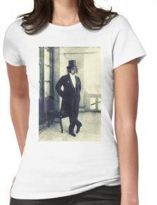 Distinguished Dog Womens Fitted T-Shirt