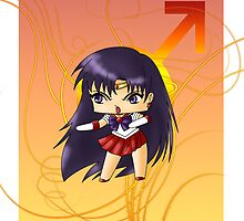 Chibi Sailor Mars by artwaste