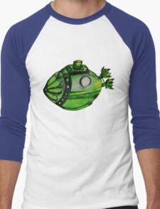 Submarine Lime Men's Baseball ¾ T-Shirt