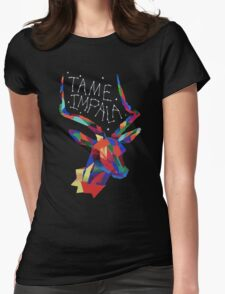 Tame Impala Deer Womens Fitted T-Shirt