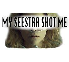 Helena - My Seestra Shot Me Photographic Print