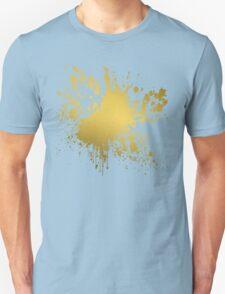 Gold Splatter Unisex T-Shirt
