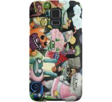 Yeti and Monsters having a party! Samsung Galaxy Case/Skin