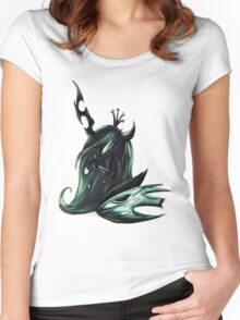 MLP: Queen Chrysalis Women's Fitted Scoop T-Shirt