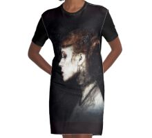 Funeral Graphic T-Shirt Dress