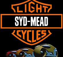 Syd Mead Light Cycles by Danzy0