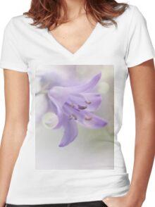 Isn't she lovely.... isn't she wonderful... Women's Fitted V-Neck T-Shirt