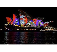 Vivid 2016 Opera House 36 Photographic Print