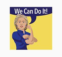 cartoon of Hillary Clinton as Rosie the Riveter Unisex T-Shirt