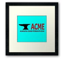 ACME Anvil Corporation Framed Print