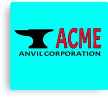 ACME Anvil Corporation Canvas Print