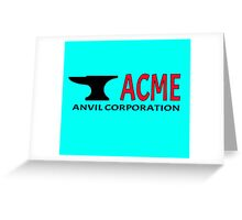 ACME Anvil Corporation Greeting Card