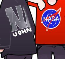 Dan & Phil NASA  Sticker