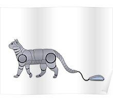 Robot Cat Poster