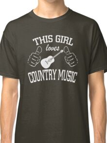 This Girl Loves Country Music Classic T-Shirt