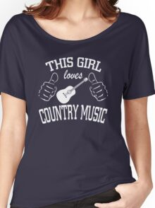 This Girl Loves Country Music Women's Relaxed Fit T-Shirt
