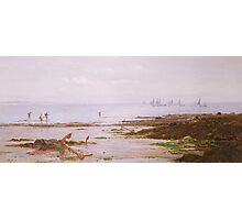 Cornish Shrimpers Photographic Print