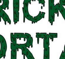 brick + mortar Sticker