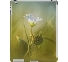 Cerastium fontanum subsp. vulgare  iPad Case/Skin