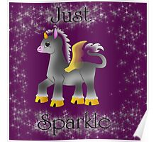 Just Sparkle Poster