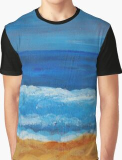 Afternoon Waves Graphic T-Shirt