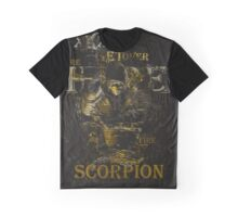 Mortal Kombat Scorpion get over here Graphic T-Shirt