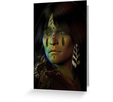 midnight dreaming Greeting Card