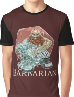 Dungeons and Dragons Barbarian Graphic T-Shirt
