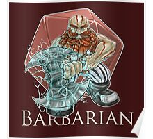 Dungeons and Dragons Barbarian Poster