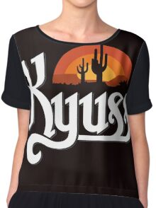 Kyuss Black Widow Chiffon Top
