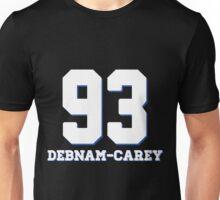 Debnam-Carey 93' Varsity Style [White] Unisex T-Shirt