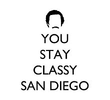 You stay classy San Diego Pillow 1 by supalurve