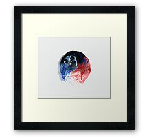 Just sitting there Framed Print