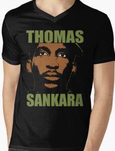 Thomas Sankara-3 Mens V-Neck T-Shirt
