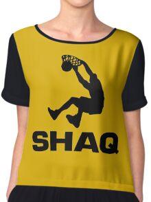 Shaquille Rashaun O'Neal Chiffon Top