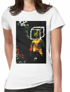 Conceptual Womens Fitted T-Shirt
