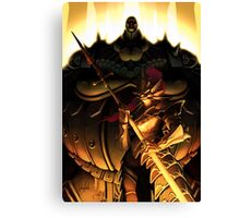 The Dragonslayer and the Executioner Canvas Print