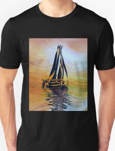 SAILING ON A SUMMER AFTERNOON, by E. Giupponi Unisex T-Shirt