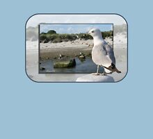 Gull on the Outside ~ Looking Back Unisex T-Shirt